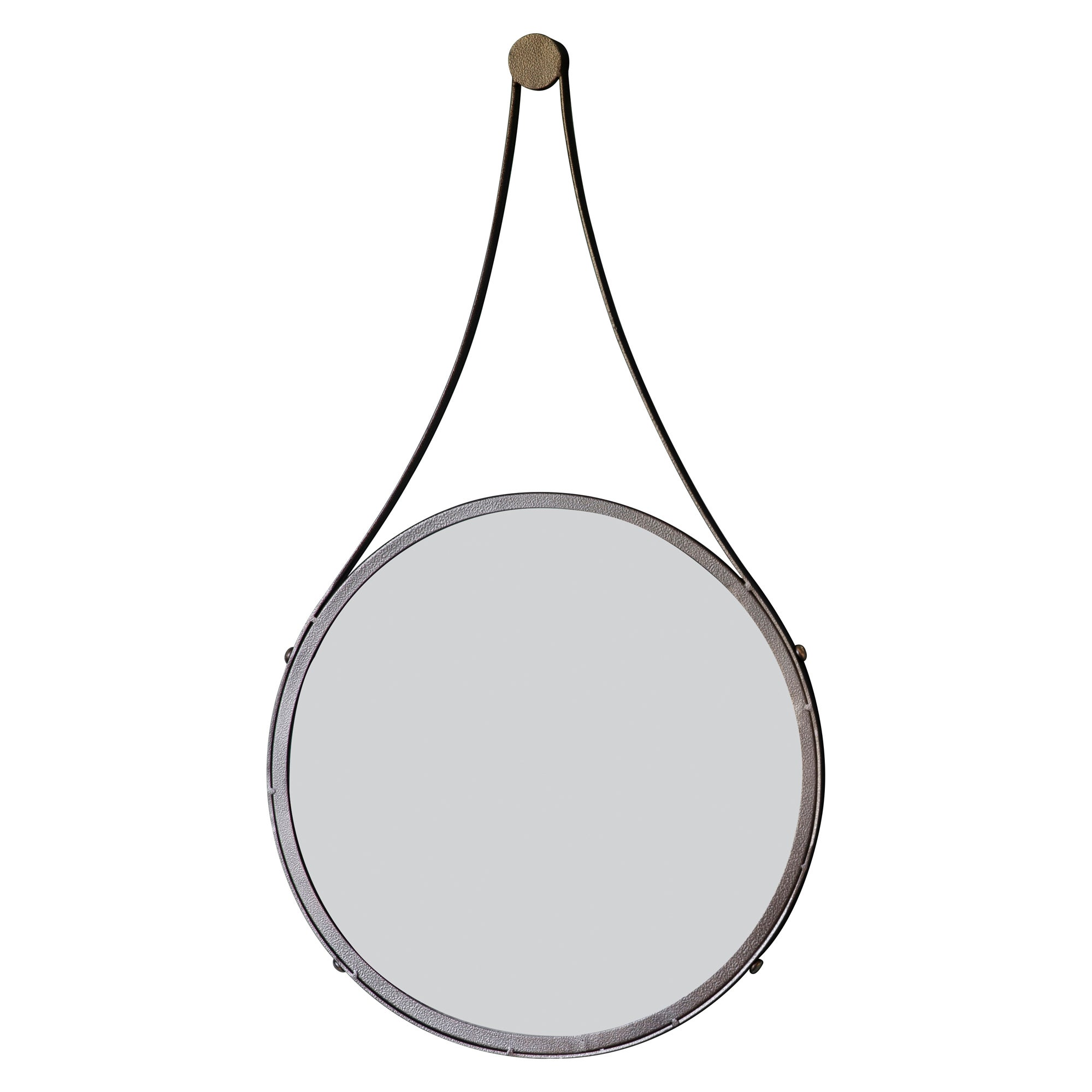 Click to view product details and reviews for Broadway 41cm Round Mirror Bronze.