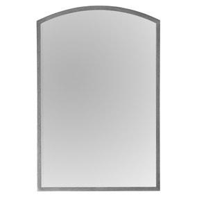 Higgins Silver 60x90cm Arch Mirror