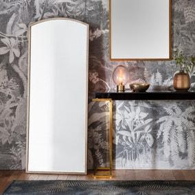 Higgins Silver 60x150cm Arch Mirror