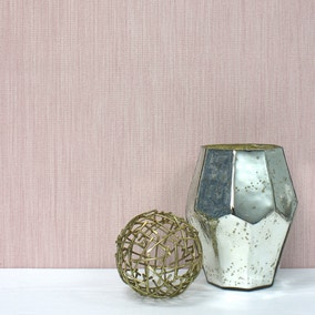 Florence Blush Textured Wallpaper