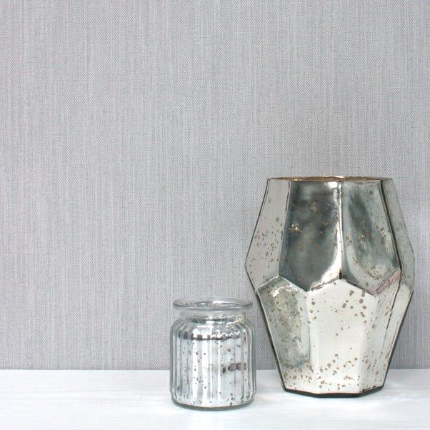 Florence Grey Textured Wallpaper Grey