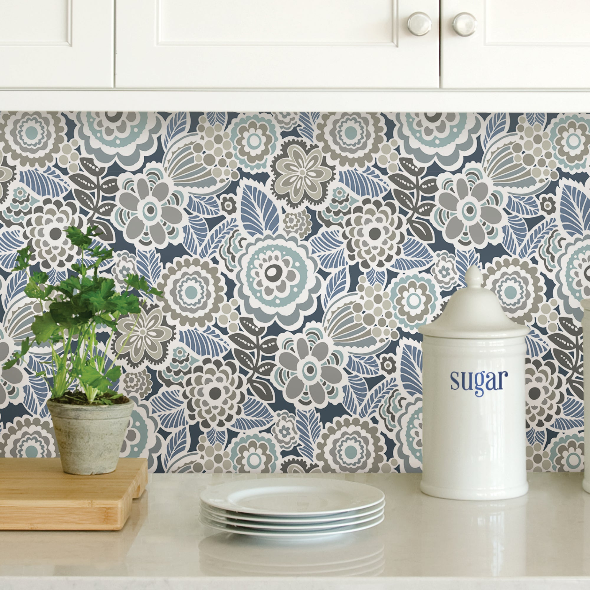 Click to view product details and reviews for Nuwallpaper Dream On Navy Self Adhesive Wallpaper Navy.