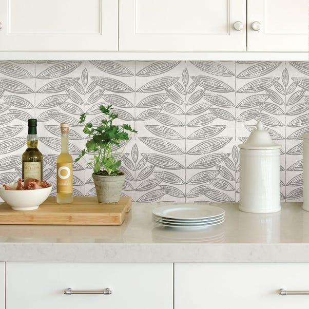 NuWallpaper Terrain Grey Self Adhesive Wallpaper