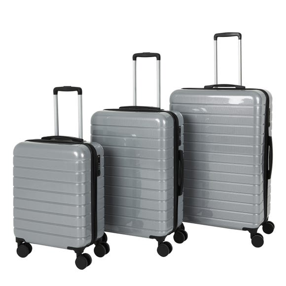 Sydney Grey Hard Shell Suitcase Grey undefined