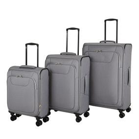 Adelaide Grey Soft Suitcase