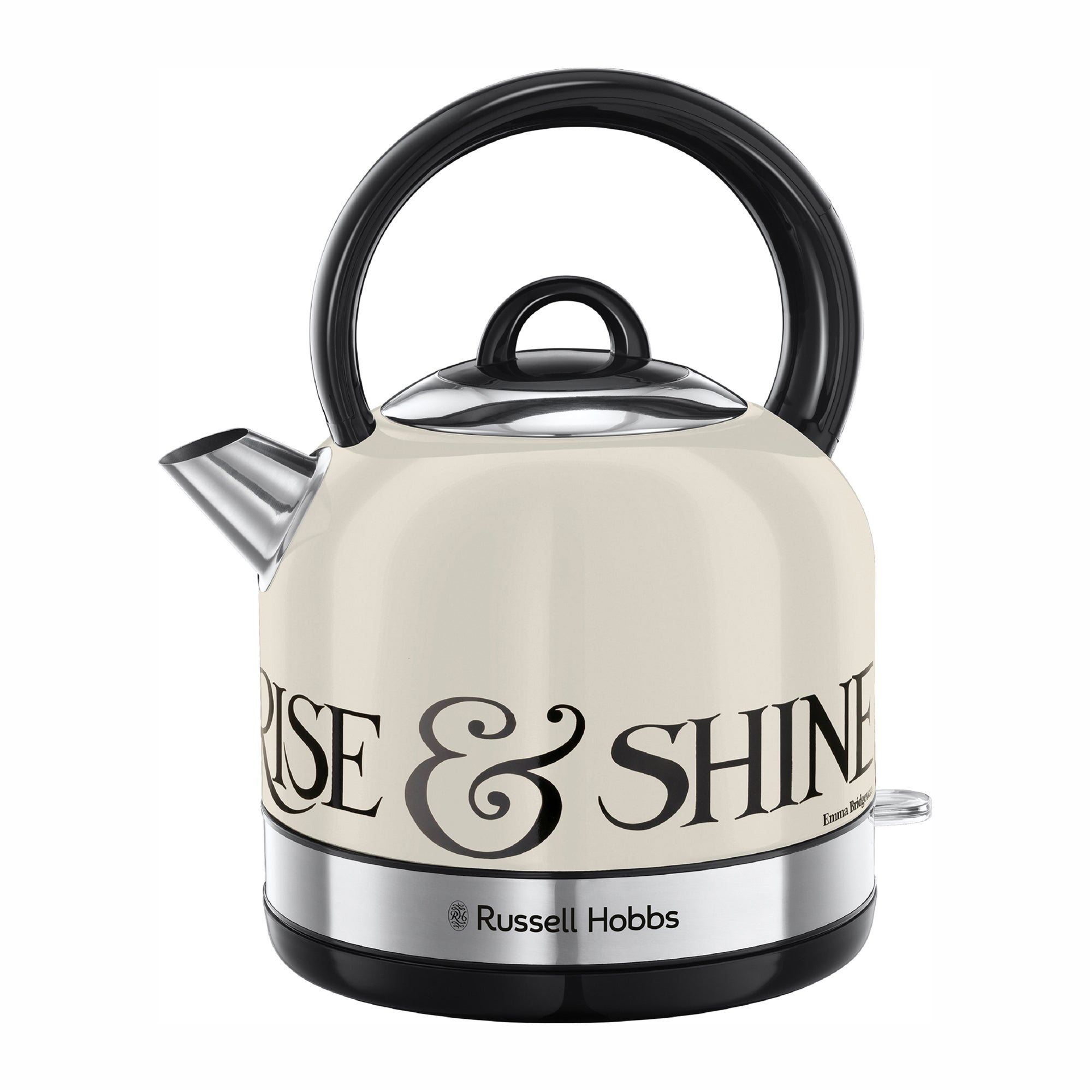 Click to view product details and reviews for Russell Hobbs Emma Bridgewater 15l 3kw Cream Kettle Off White And Silver.