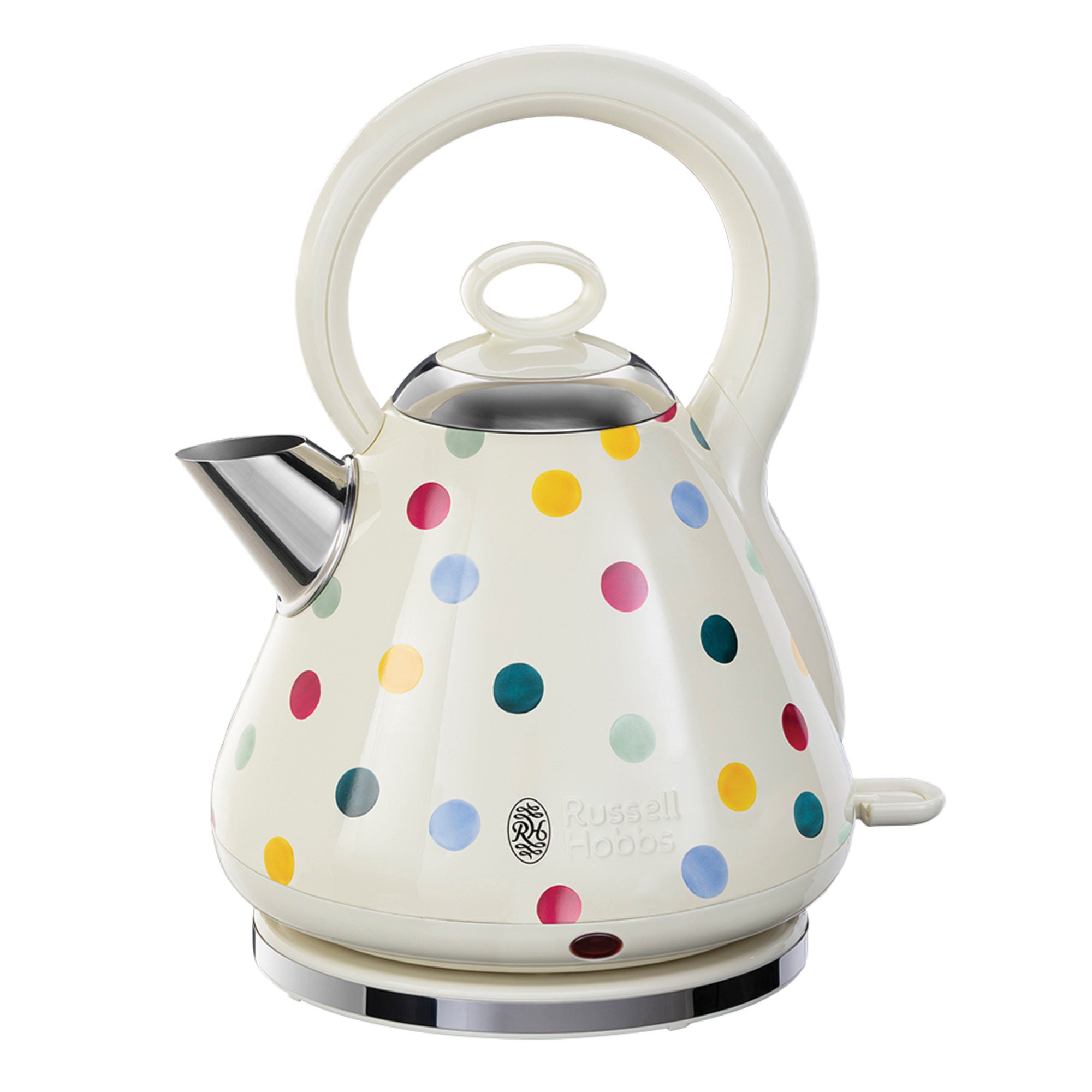 Click to view product details and reviews for Russell Hobbs Emma Bridgewater 17l 3kw Polka Dot Kettle Cream Blue And Yellow.