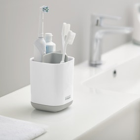 Joseph Joseph EasyStore Large White Toothbrush Caddy