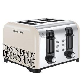 Russell Hobbs Emma Bridgewater 4 Slice Cream Toaster