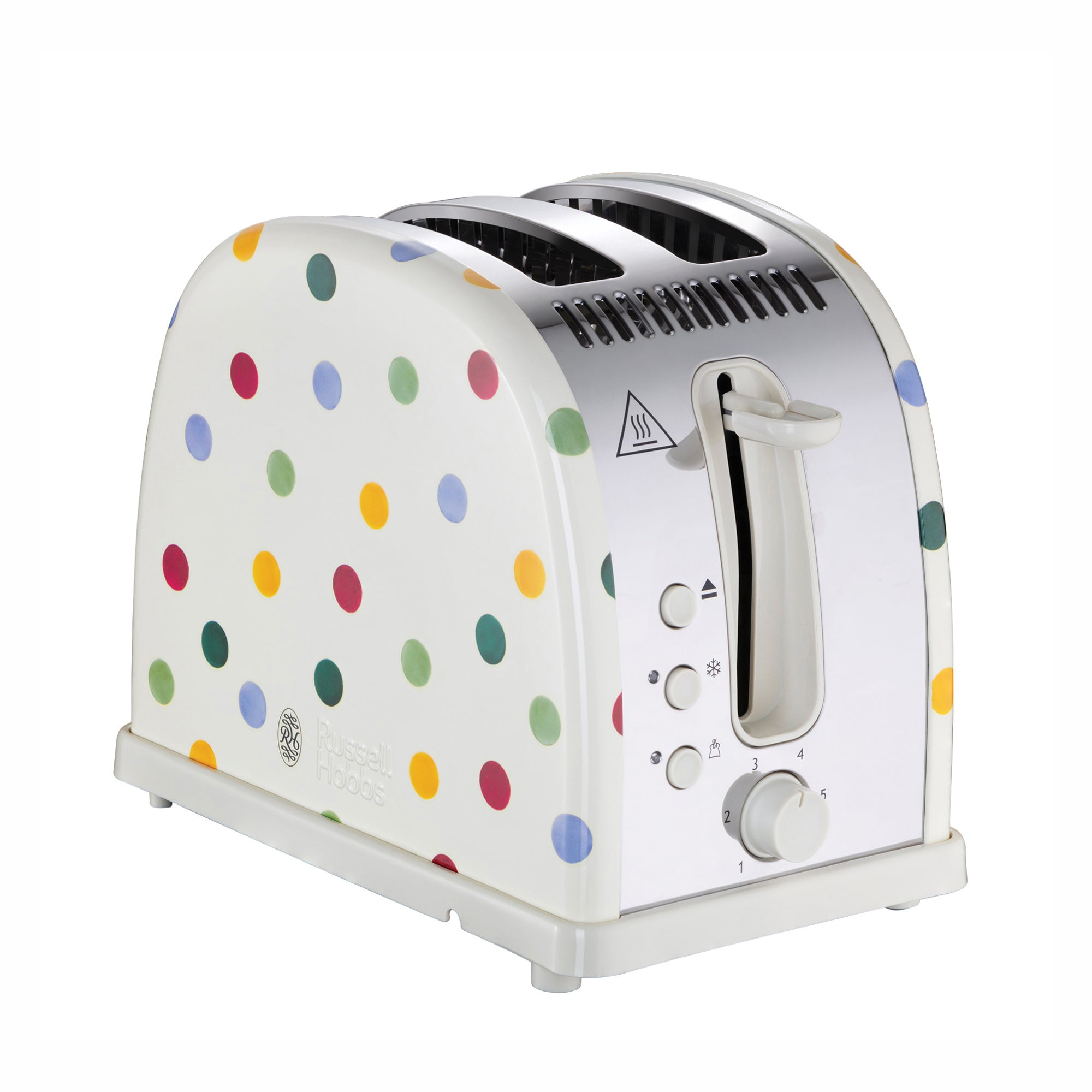 Click to view product details and reviews for Russell Hobbs Emma Bridgewater 2 Slice Polka Dot Toaster White.