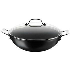 Circulon Hard Anodised 34cm Lidded Wok