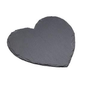 Artesa Slate Heart Serving Platter