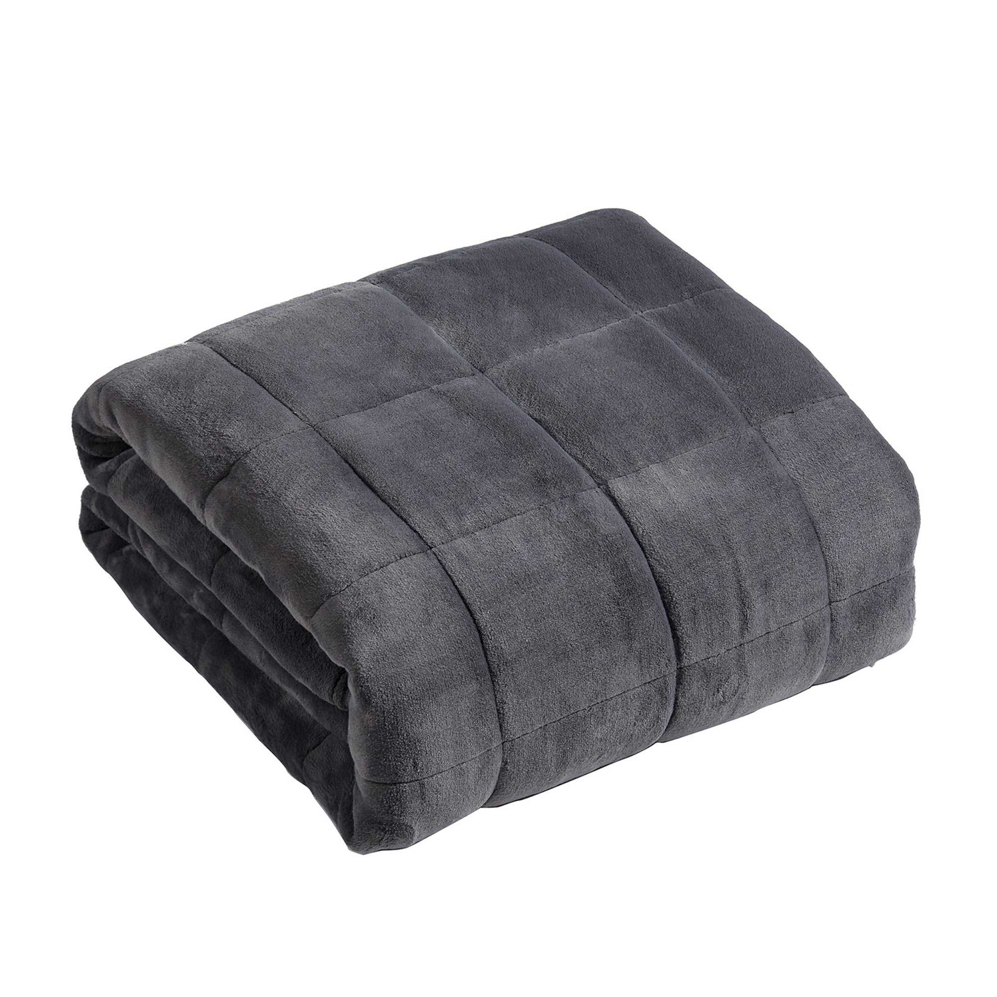 Photo of Grey weighted blanket grey
