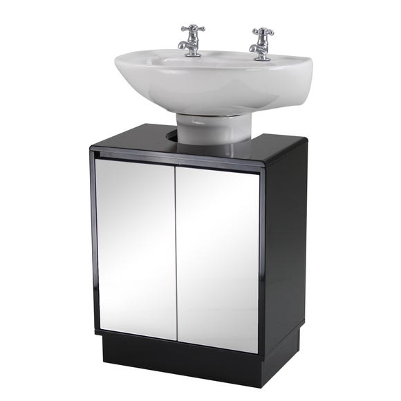 Callen Black Under Sink Unit Black