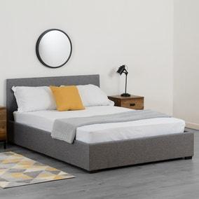Waverley Grey Linen Ottoman Bed