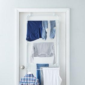 3 Tier Over Door Indoor Clothes Airer