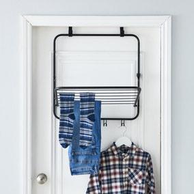 1 Tier Over Door Indoor Clothes Airer