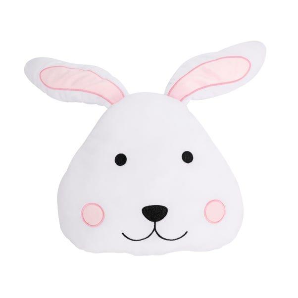 Rabbit 3D Cushion White