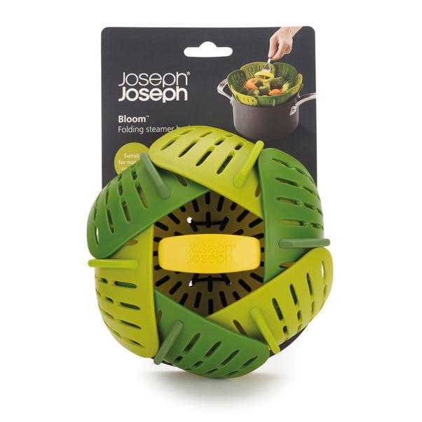 Joseph Joseph Bloom Folding Steamer Basket Green