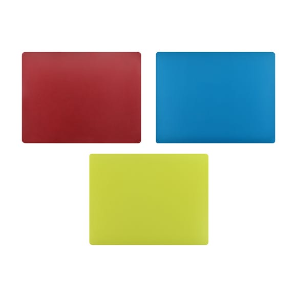 Flexi Chopping Mat Set MultiColoured