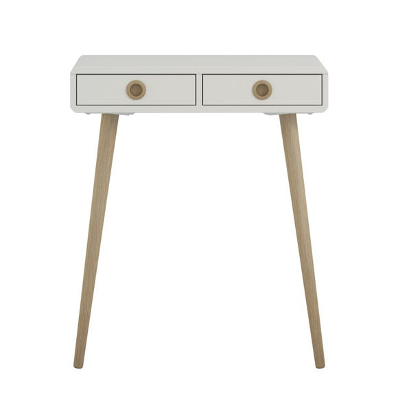 Softline Console Table Natural (White)