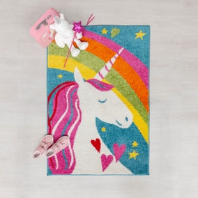 Unicorn Rainbow Rug