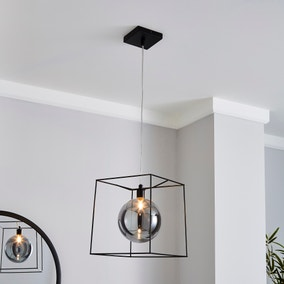 Elena Glass Pendant Ceiling Fitting