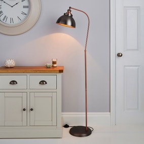 Lyla Floor Lamp Copper