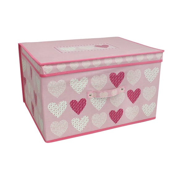 Heart Storage Box MultiColoured