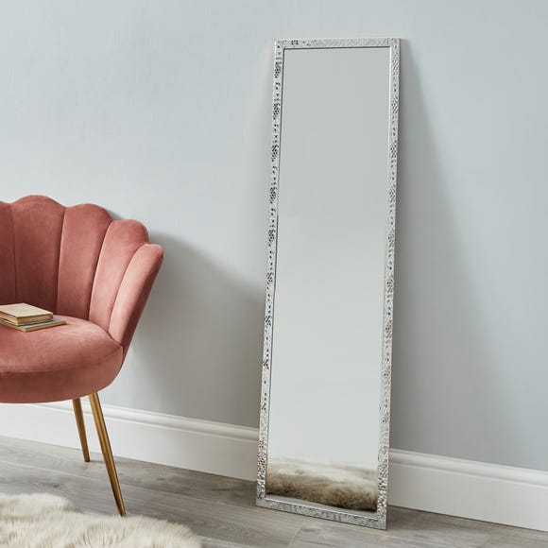 Silver Full Length Mirror Silver