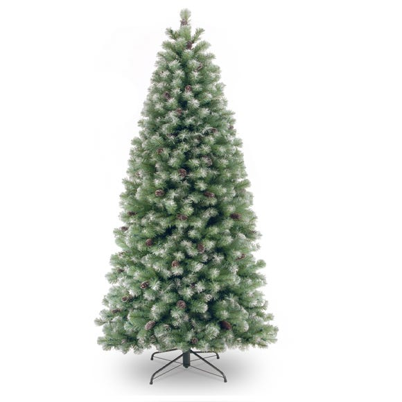 6ft Lakeland Snow Dusted Christmas Tree Green