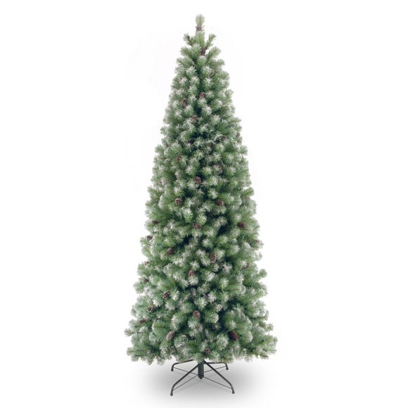 7ft Lakeland Snow Dusted Christmas Tree Green