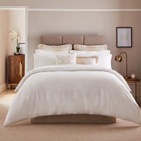 Dorma Egyptian Cotton 1000 Thread Count White Duvet Cover