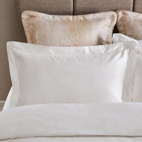 Dorma 1000 Thread Count Egyptian White Oxford Pillowcase