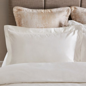 Dorma Egyptian Cotton 1000 Thread Count Cream Oxford Pillowcase