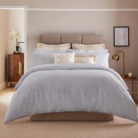Dorma Egyptian Cotton 1000 Thread Count Silver Duvet Cover