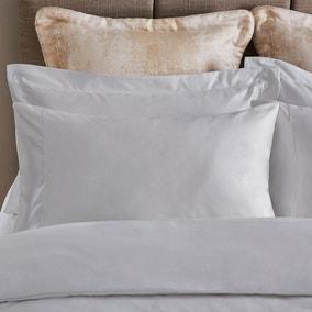 Dorma Egyptian Cotton 1000 Thread Count Silver Housewife Pillowcase