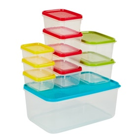 10 Piece BPA Free Food Storage Container Set