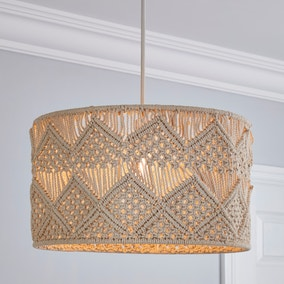 Iria Large Macrame Easy Fit Pendant