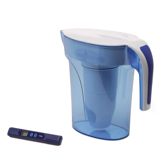 ZeroWater 7 Cup Ready Water Pitcher Jug Clear