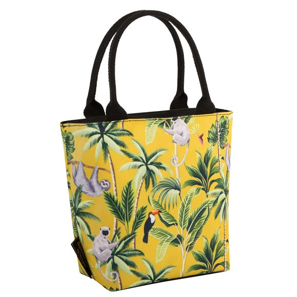 Madagascar Sloth Mustard Insulated Lunch Tote Yellow