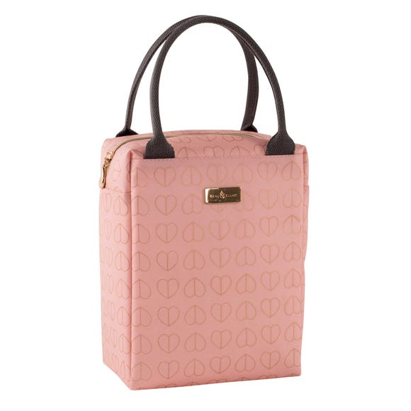Beau and Elliot Blush Insulated Lunch Tote Pink