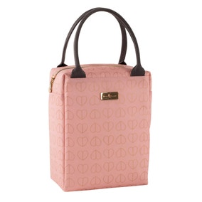 Beau and Elliot Blush Insulated Lunch Tote