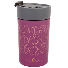 Beau and Elliot Orchid 300ml Insulated Travel Mug