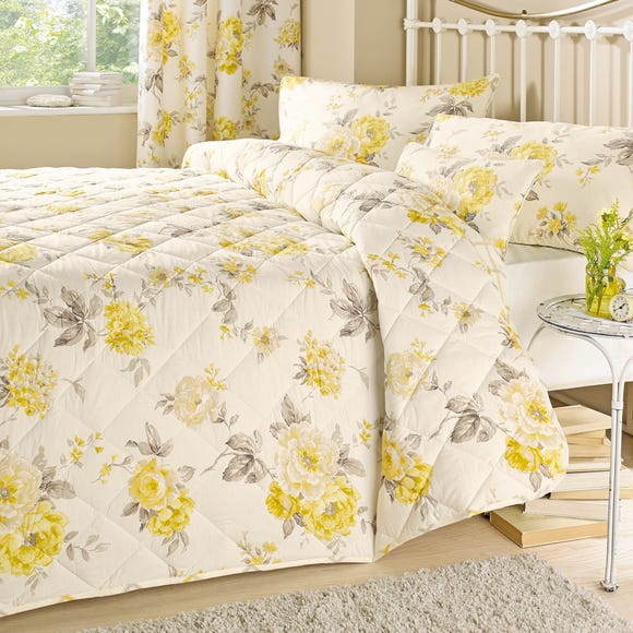 Windermere Yellow Bedspread  undefined