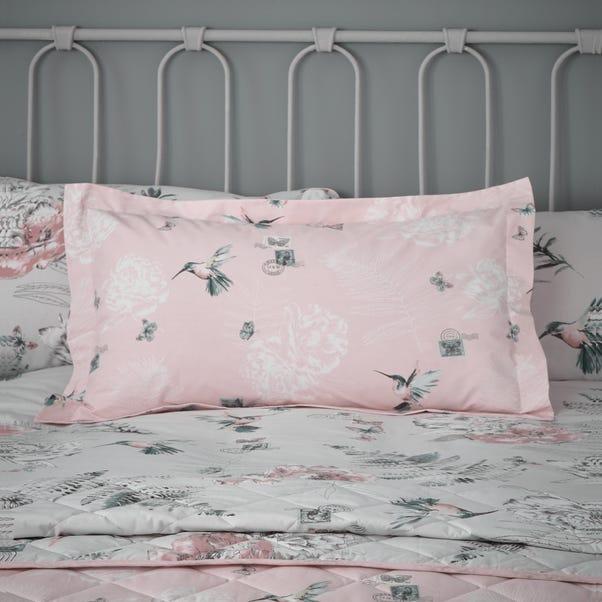 Heavenly Hummingbird Blush Oxford Pillowcase  undefined
