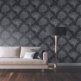 Wonderland Black Forest Wallpaper