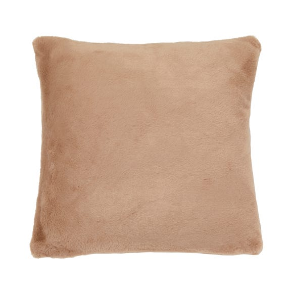 Adeline Faux Fur Cushion Cover Mink
