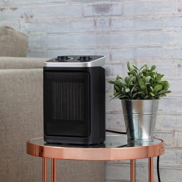 2000W PTC Ceramic Fan Heater Black