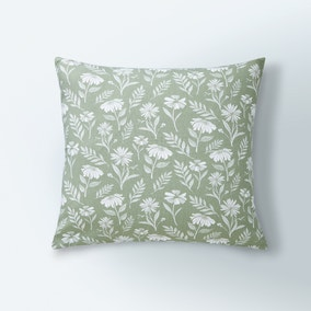 Timeless Floral Print Cushion Cover